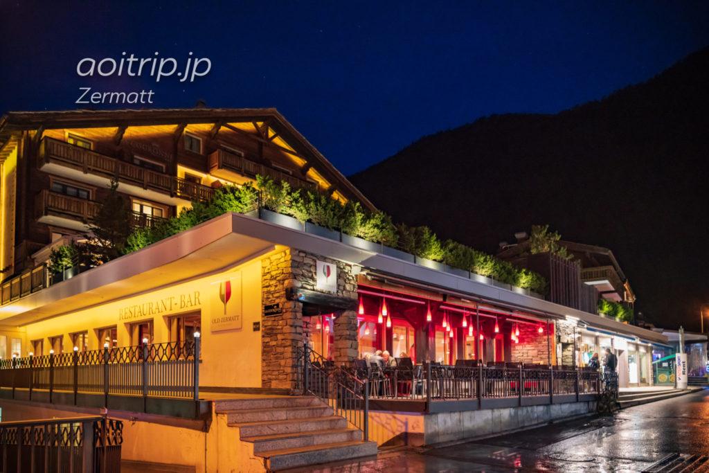 Restaurant Old Zermattの外観