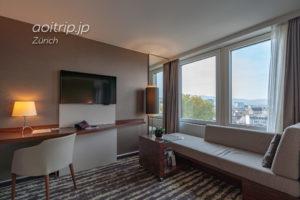 チューリッヒマリオットホテル ジュニアクラブスイート