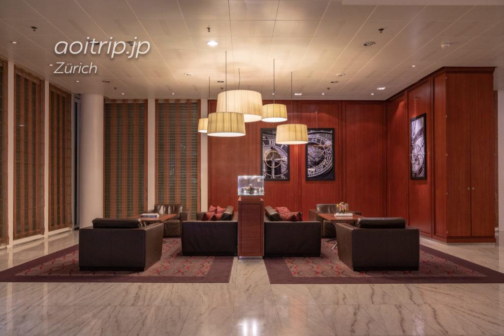 チューリッヒマリオットホテル レセプション