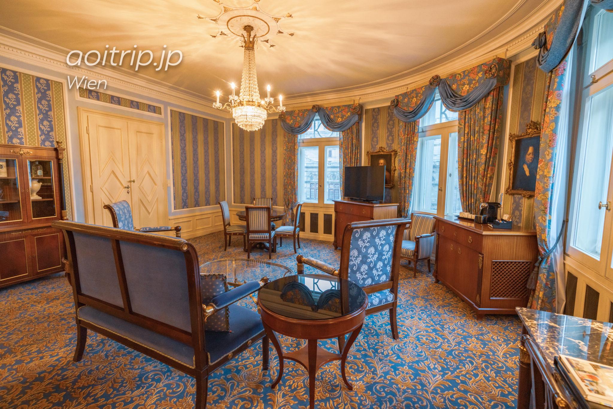 ホテルブリストルウィーンのオペラスイートルーム