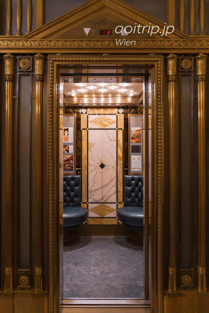 ホテルブリストルウィーンのエレベーター