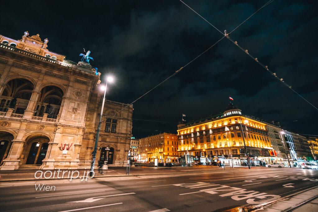 ウィーンオペラハウスとホテルブリストルウィーン