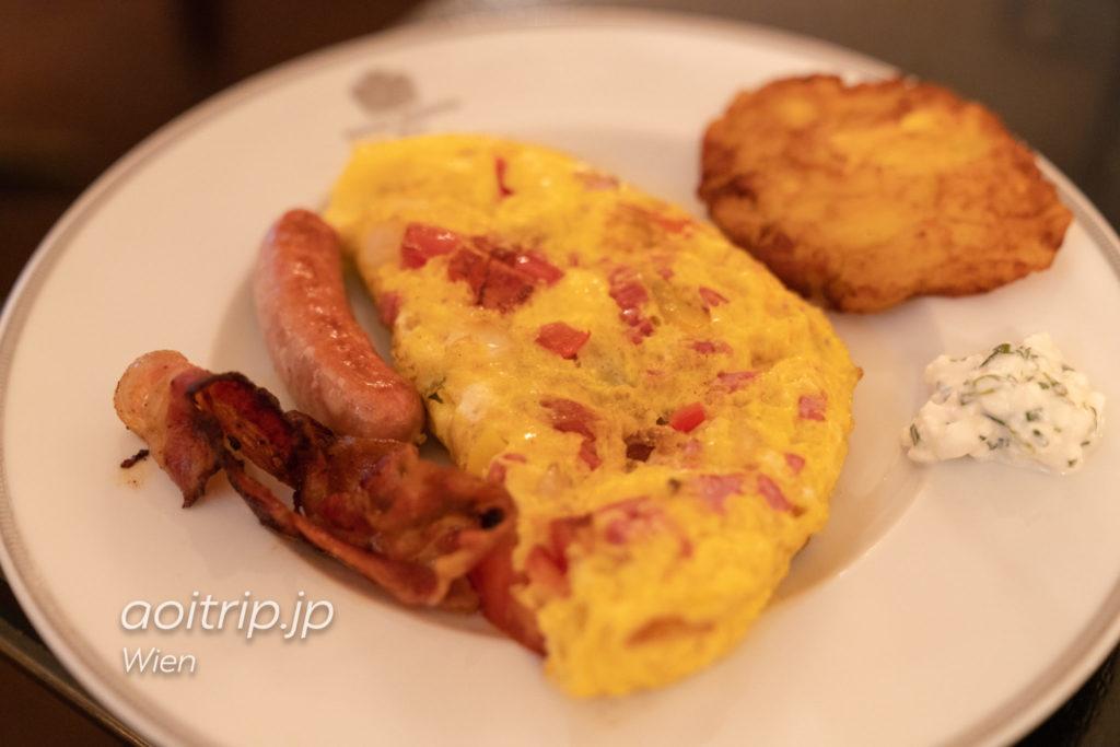 ホテル ブリストル ウィーンの朝食