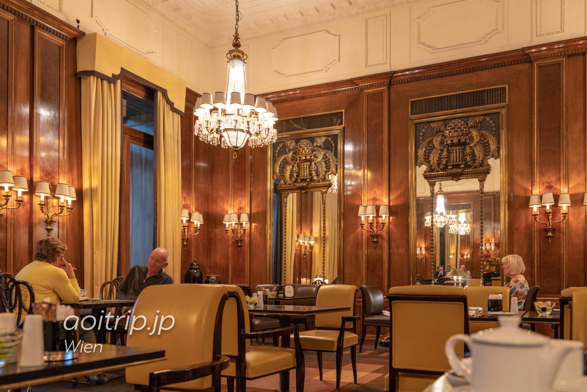 ホテル ブリストル ウィーンの朝食会場