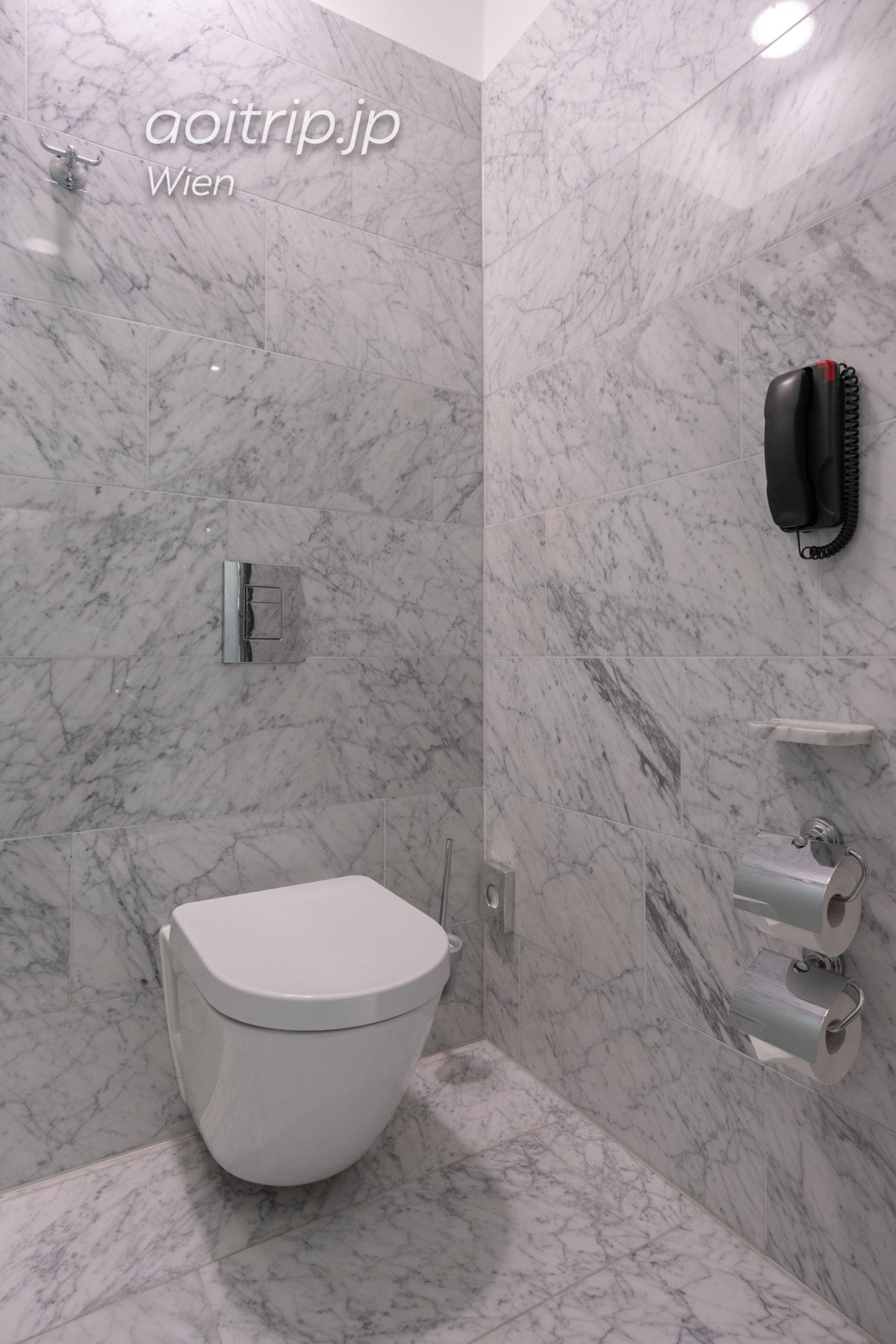 ザ リッツカールトン ウィーンのバスルーム
