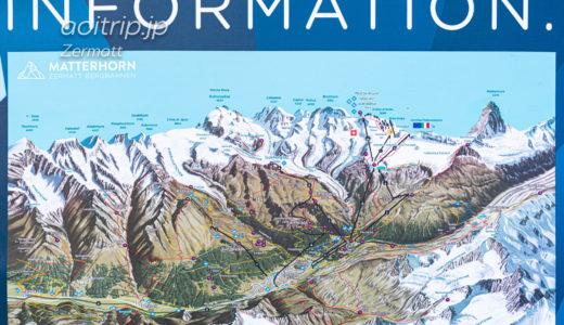 ツェルマットの地図(マップ)|Zermatt Map