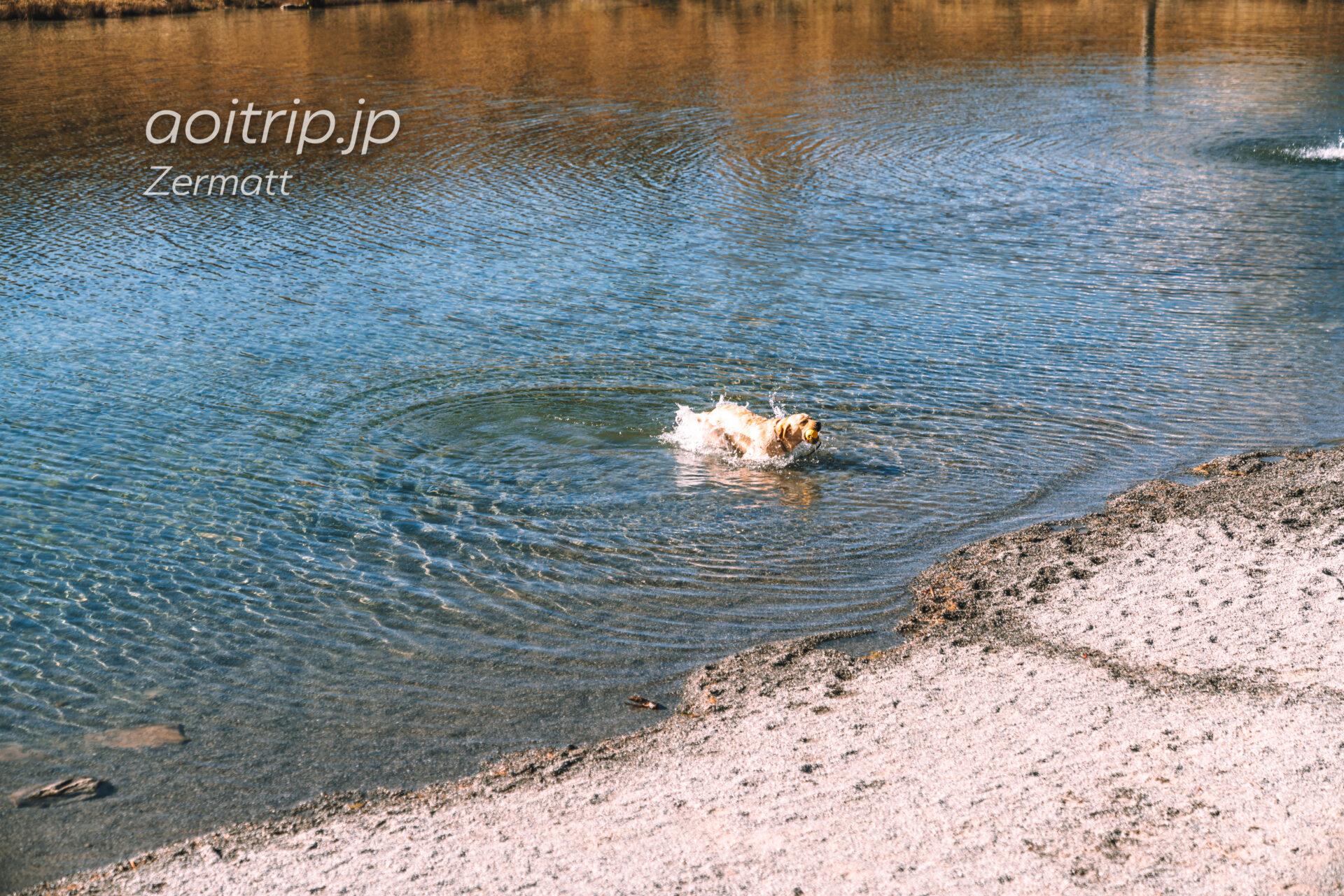 スネガのライゼー湖