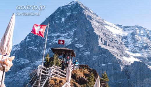 メンリッヘンからクライネシャイデックのハイキングコースPanorama Trail(スイス)