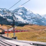 スイスのユングフラウ鉄道