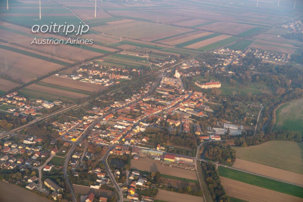 オーストリア航空 OS570便の景色