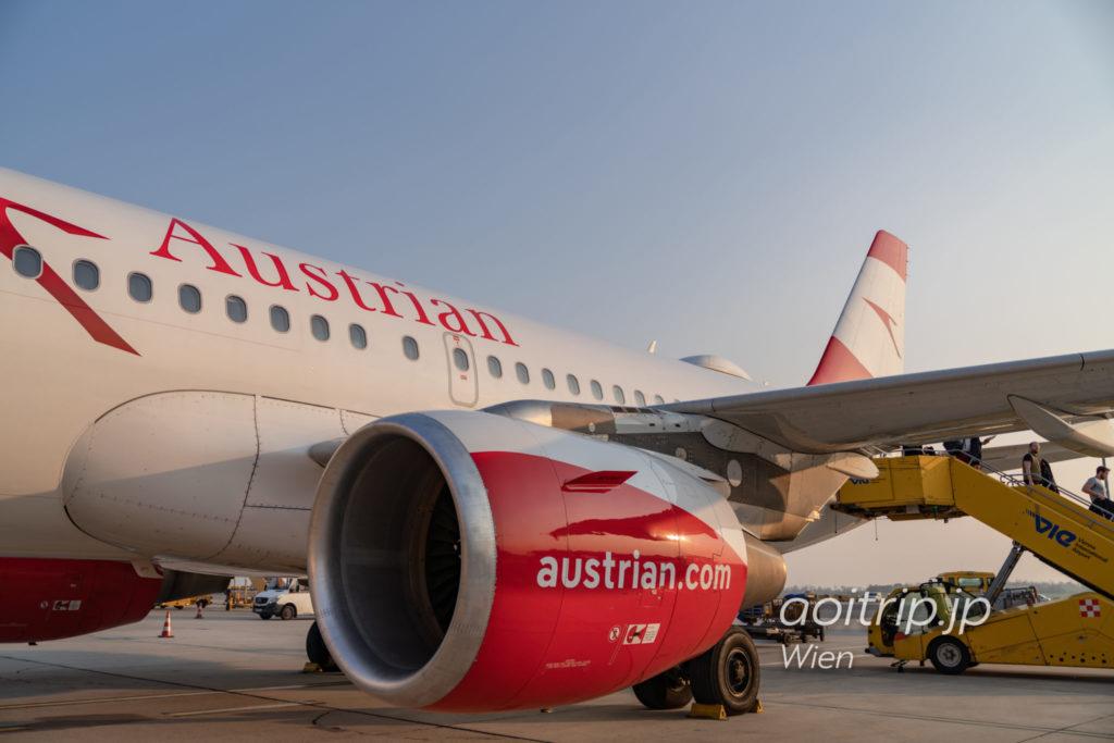 オーストリア航空の機体