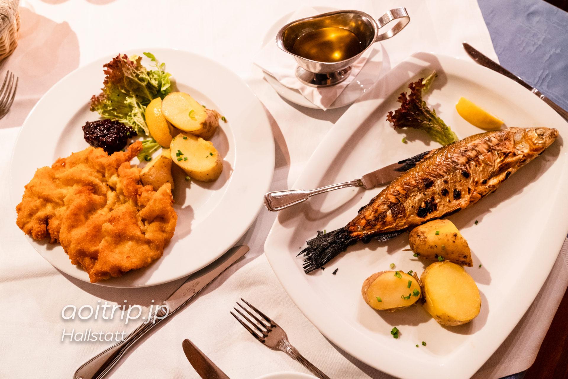 ゼーヴィルト ツァウナー ハルシュタットのレストラン