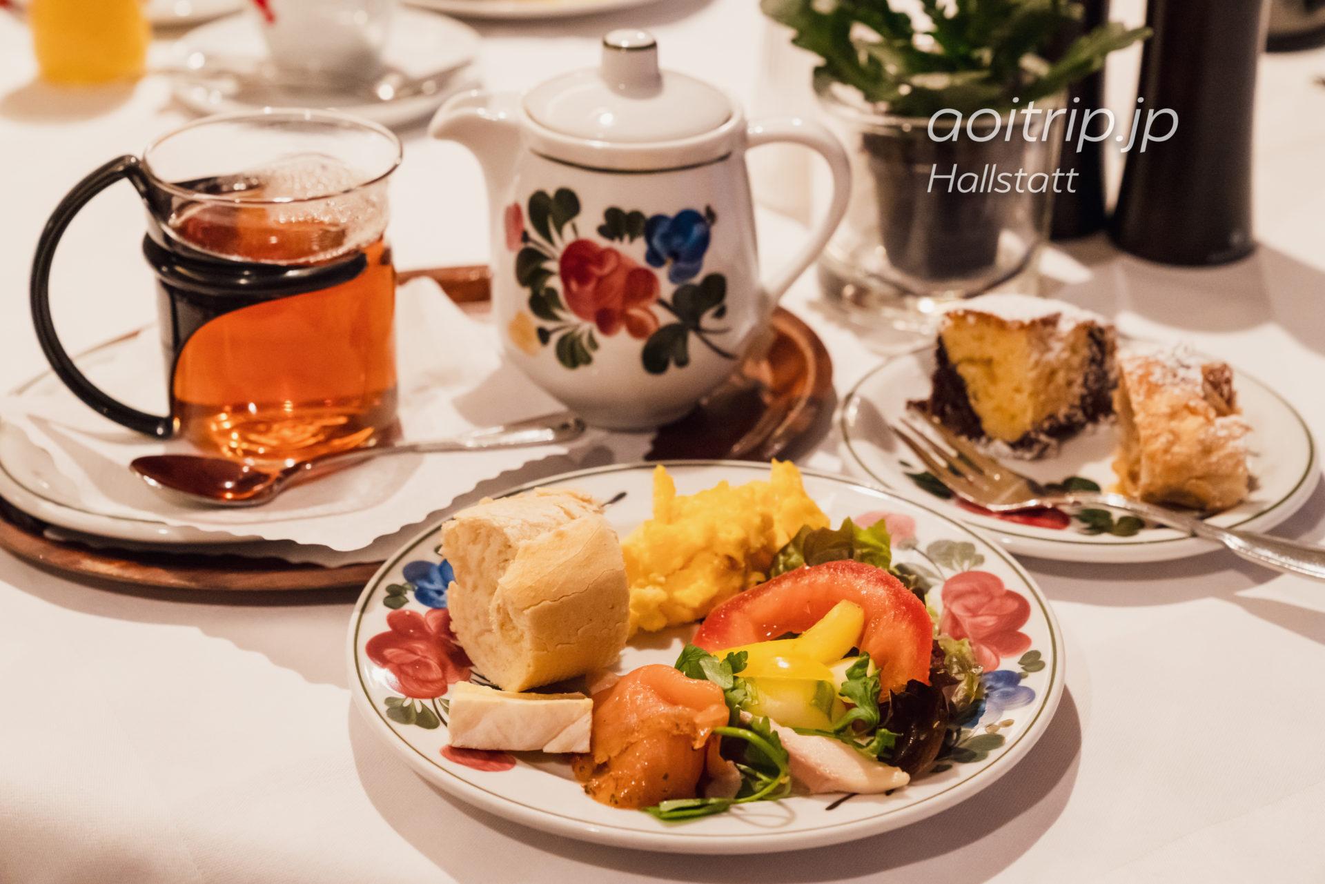 ゼーヴィルト ツァウナー ハルシュタットの朝食