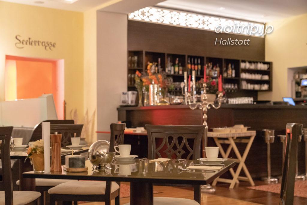 ゼーホテル グリューナー バウムのレストラン