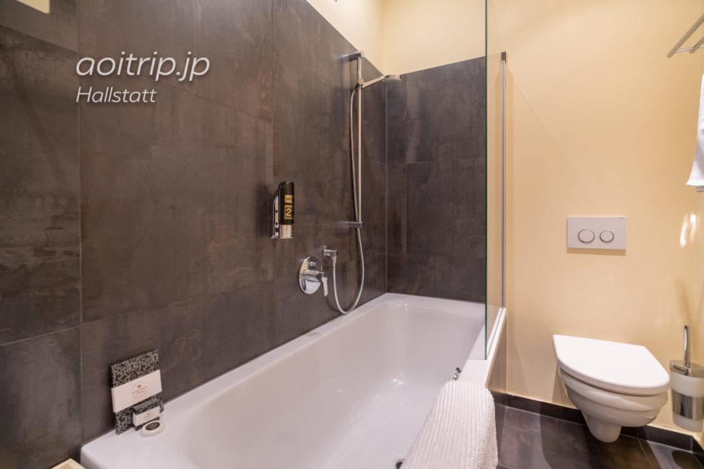 ゼーホテル グリューナー バウムのバスルーム
