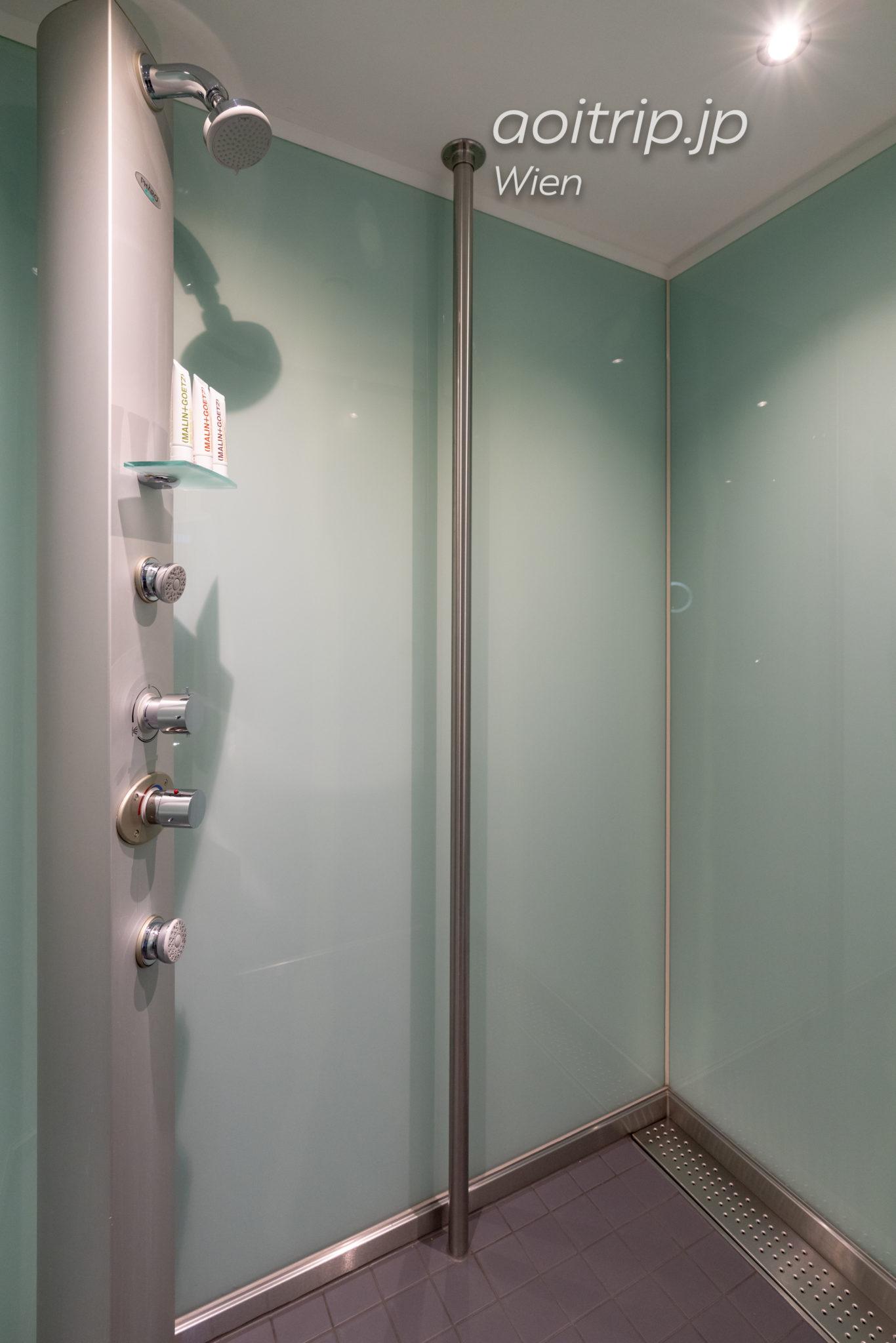 ルメリディアンウィーン ルーフトップテラススイートのバスルーム