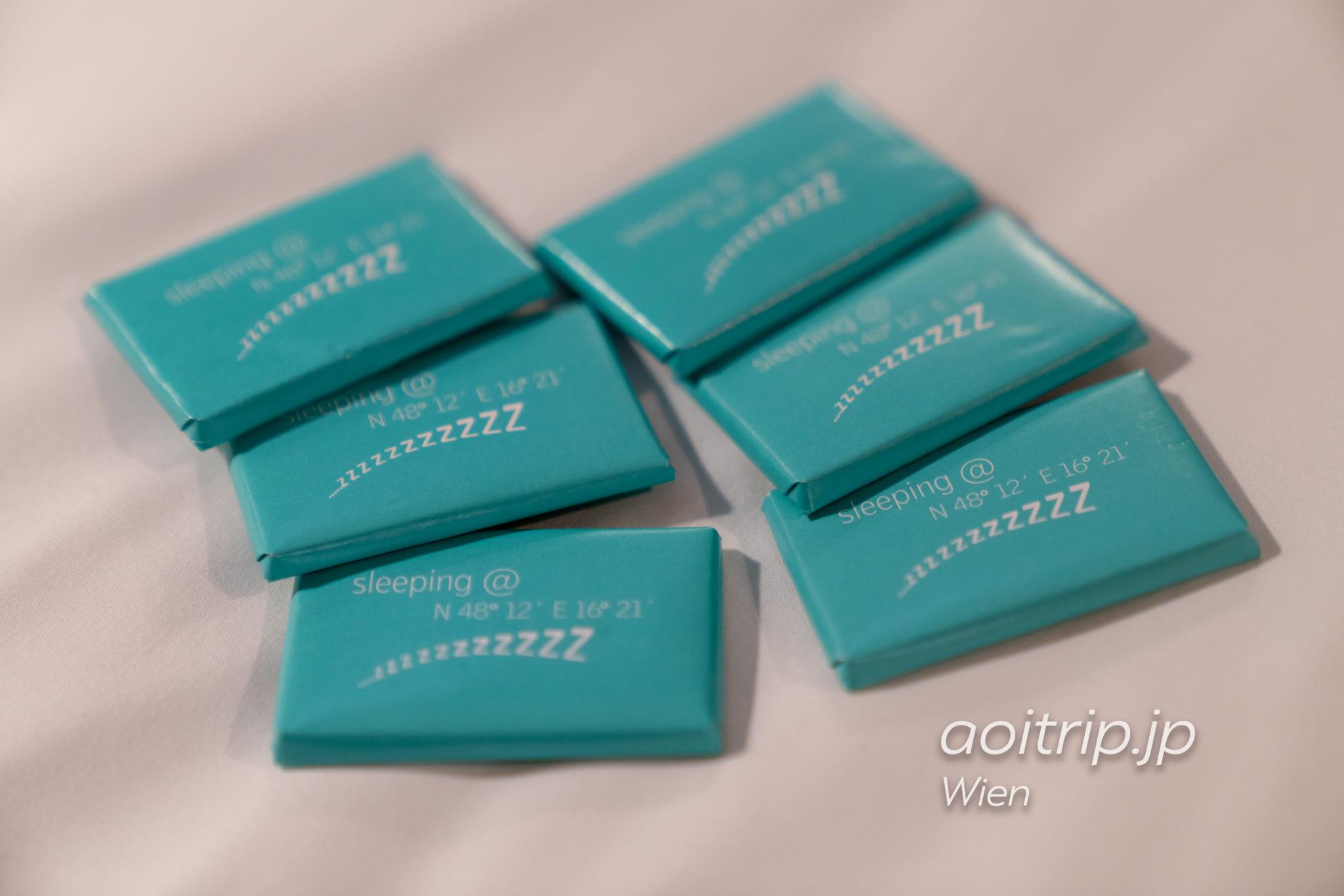 ルメリディアンウィーン ウェルカムチョコレート