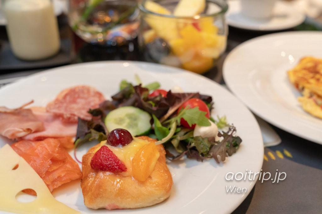 ルメリディアンウィーンの朝食