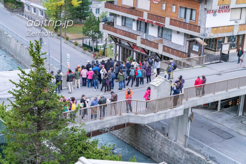 ツェルマットの日本人橋