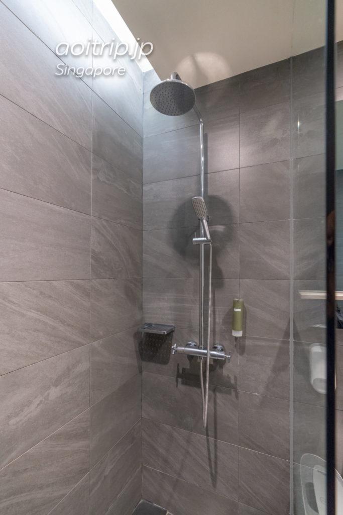 シンガポールチャンギ国際空港 アエロテルトランジットホテル シャワー