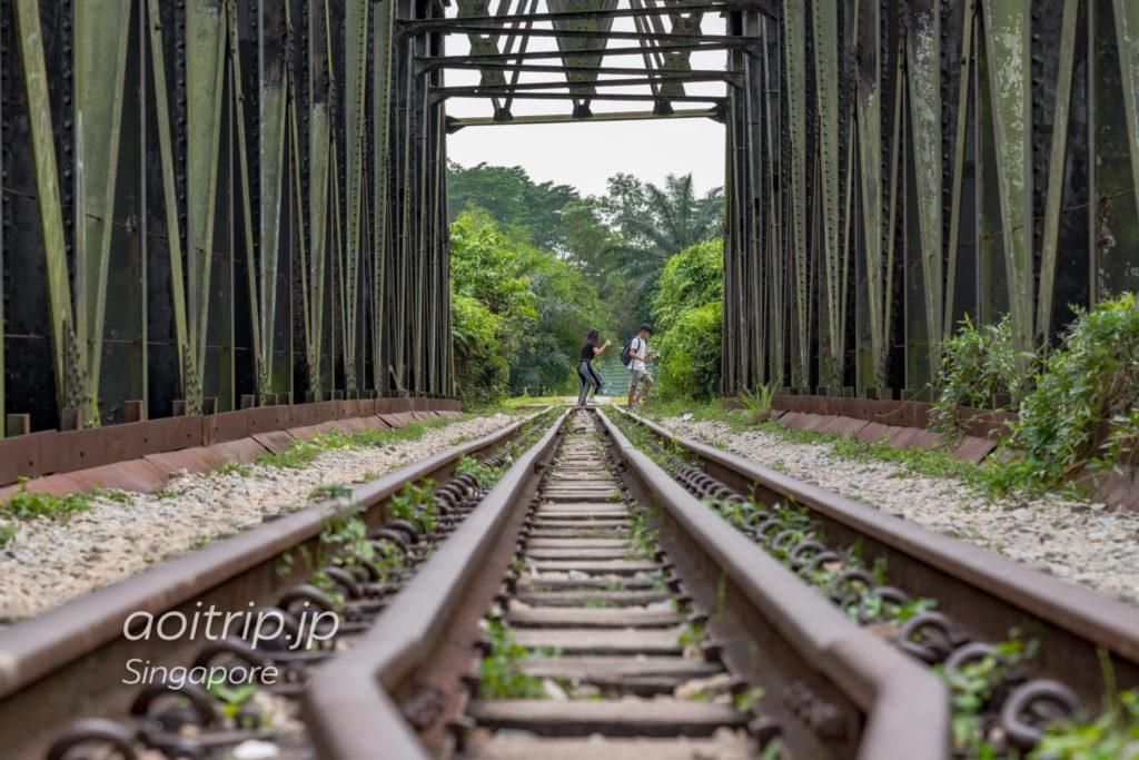 シンガポール マレー鉄道の廃線路