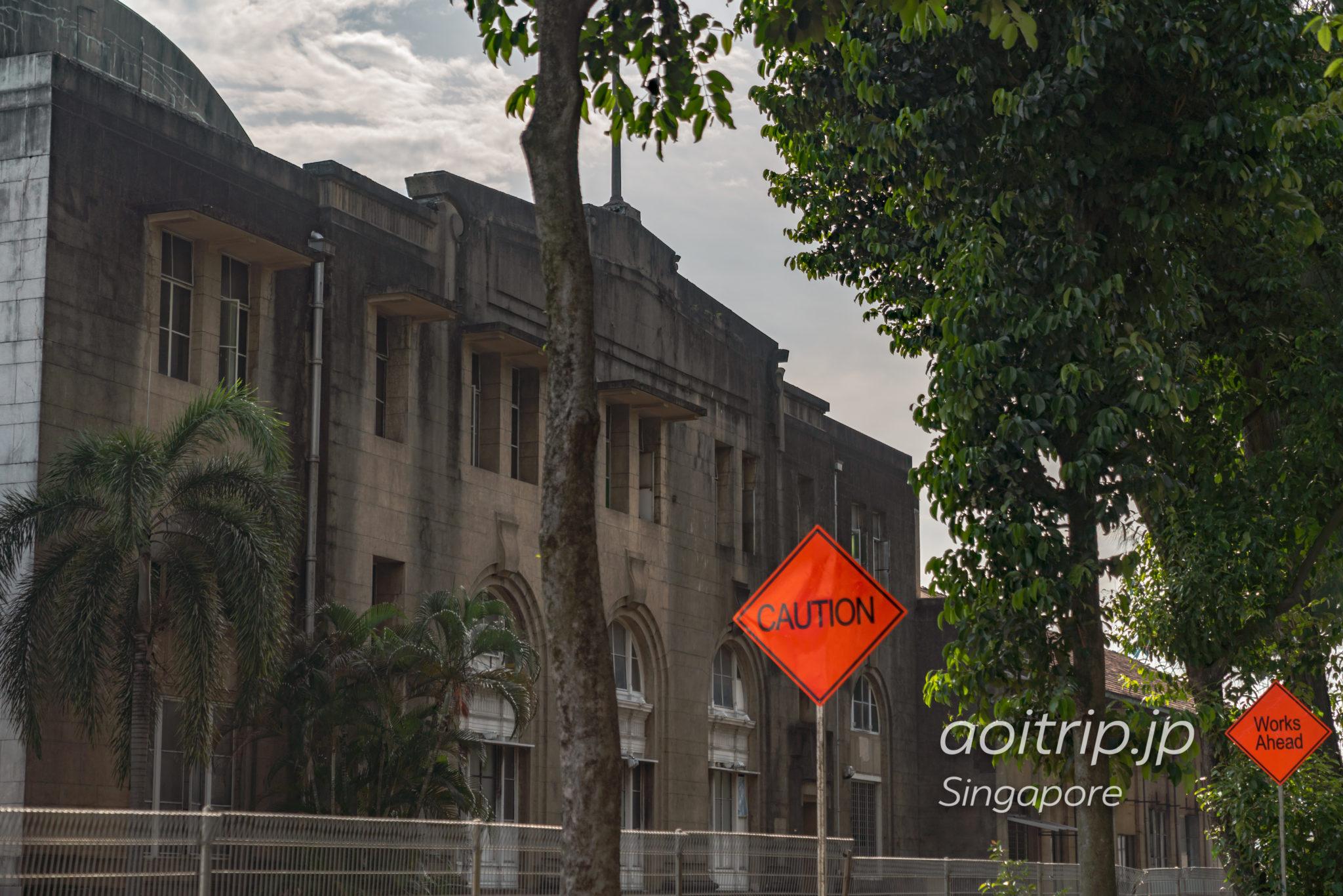 マレー鉄道の廃駅 シンガポールのタンジョンパガー駅(Tanjong Pagar Railway Station)