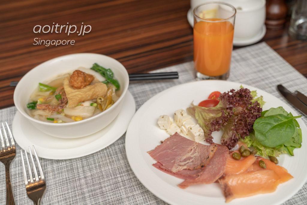 セントレジスシンガポールの朝食