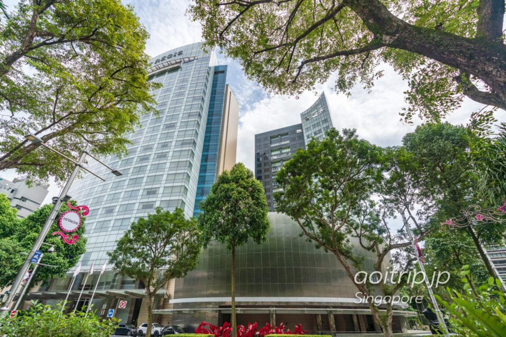 セントレジスシンガポール ホテルの外観