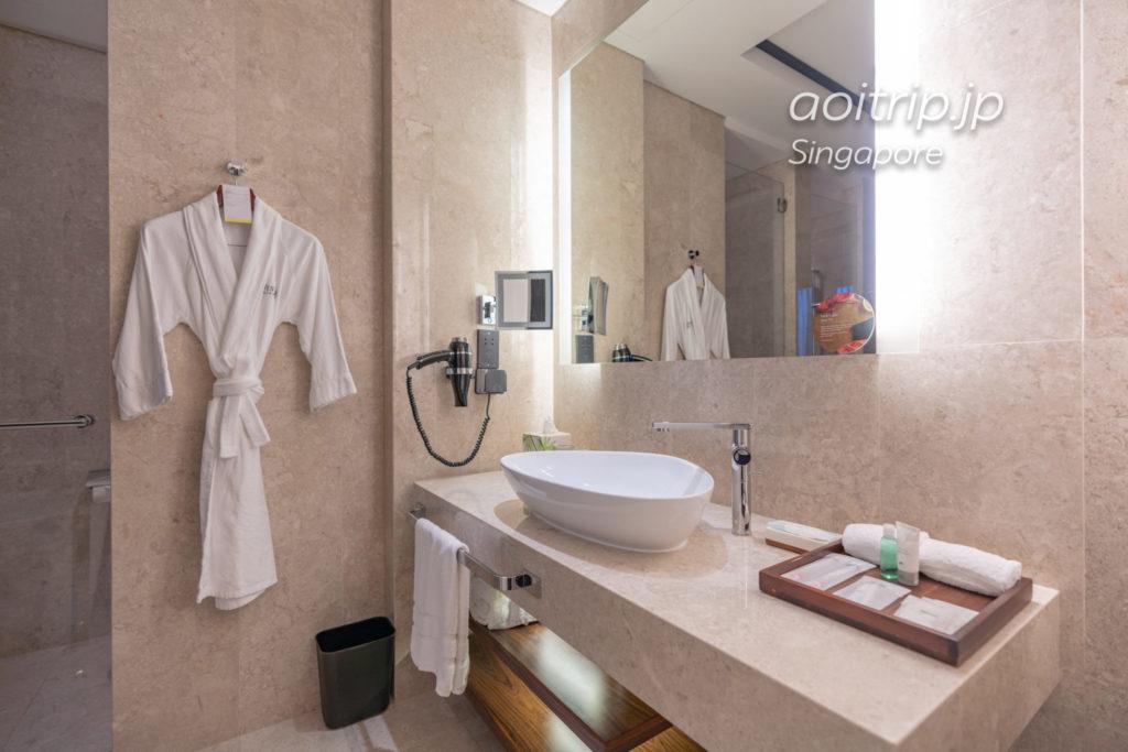 ウェスティンシンガポールのバスルーム