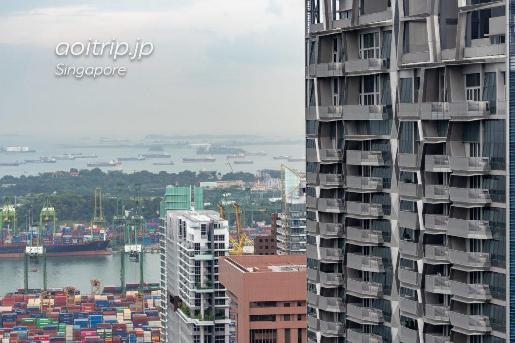 ウェスティンシンガポールからUSSを望む