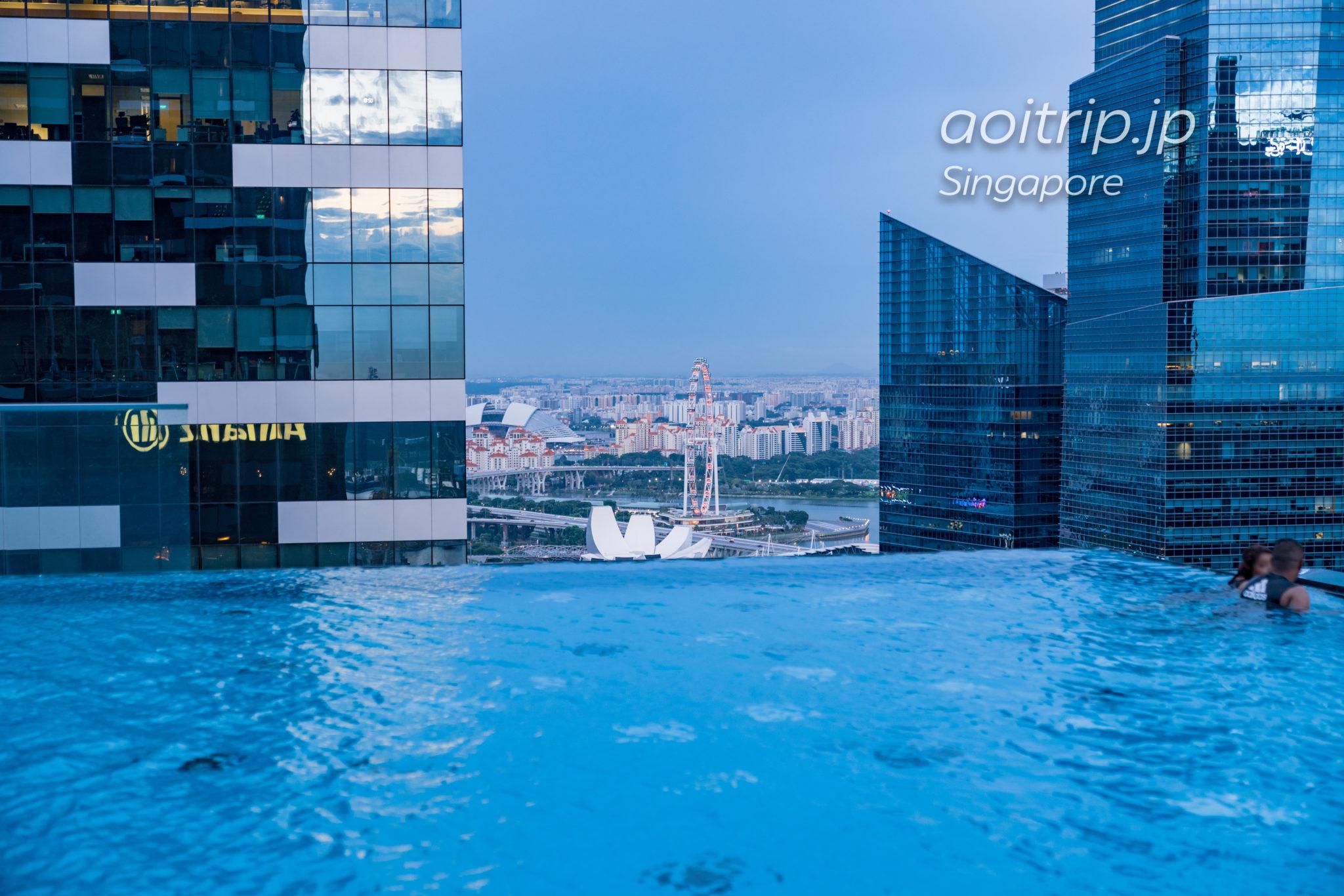ウェスティンシンガポールのインフィニティプール