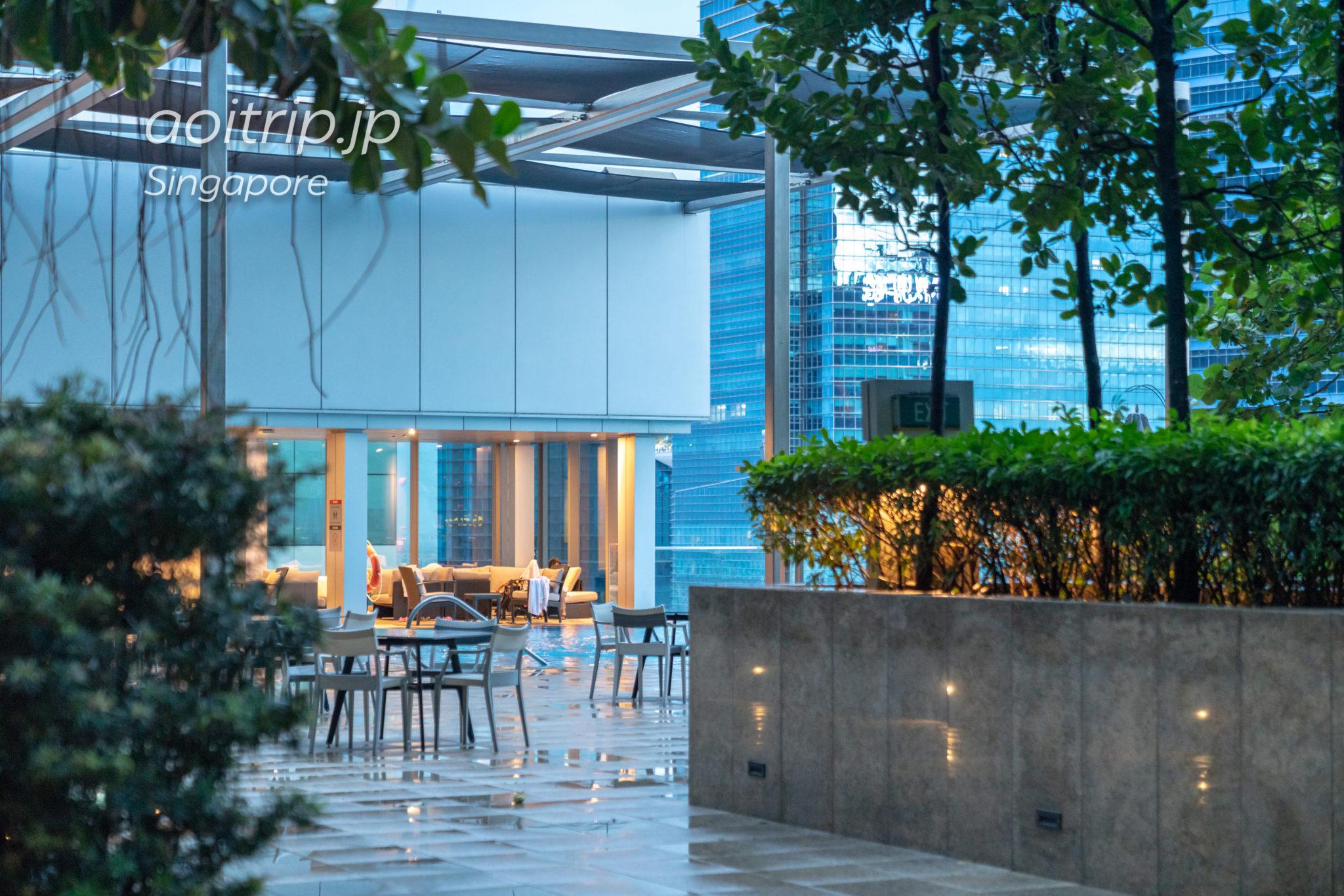 ウェスティンシンガポールのプール