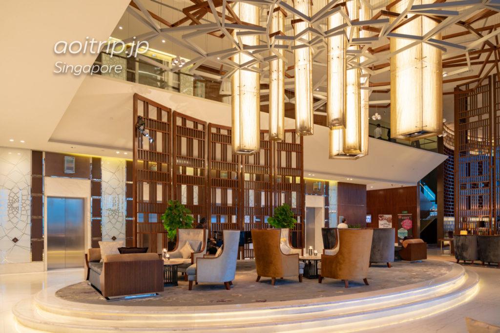 ウェスティンシンガポールの35階ホテルロビー