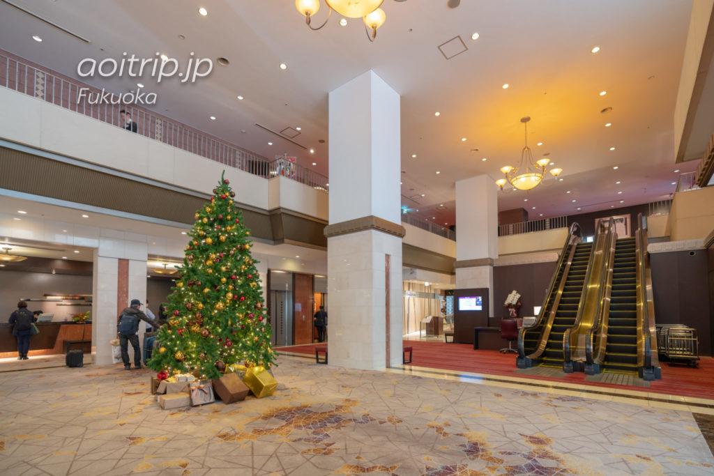 ANAクラウンプラザホテル福岡のホテルロビー