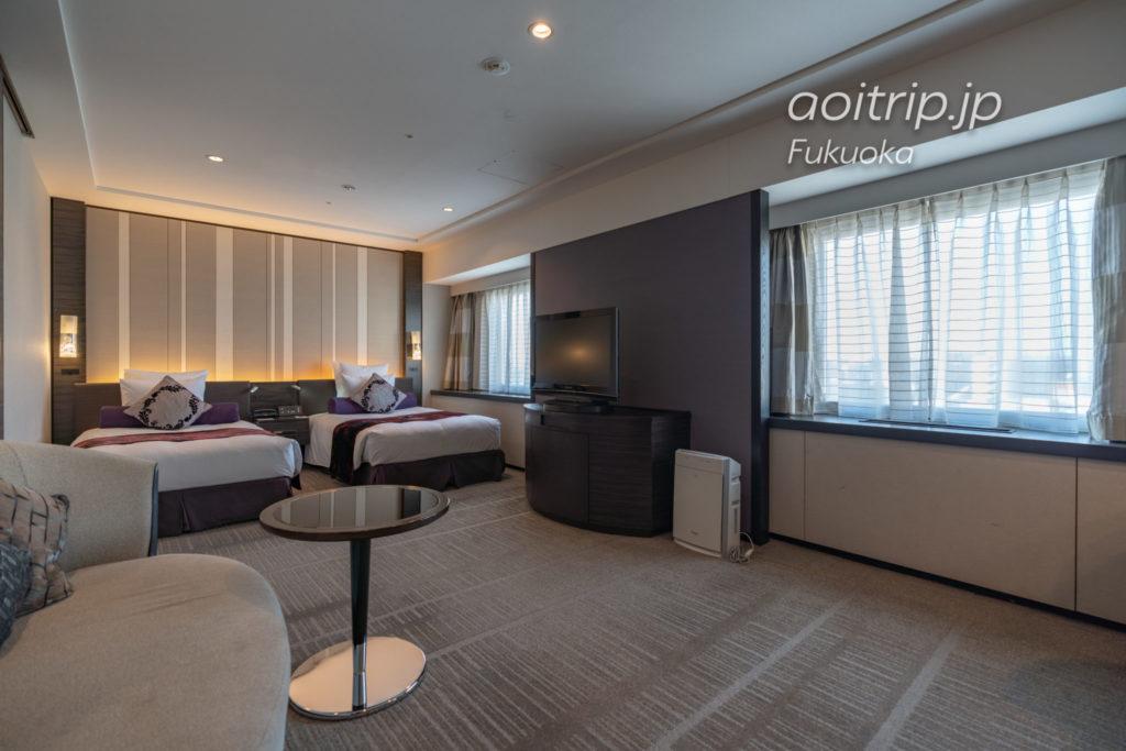ANAクラウンプラザホテル福岡のクラブデラックスツインルーム