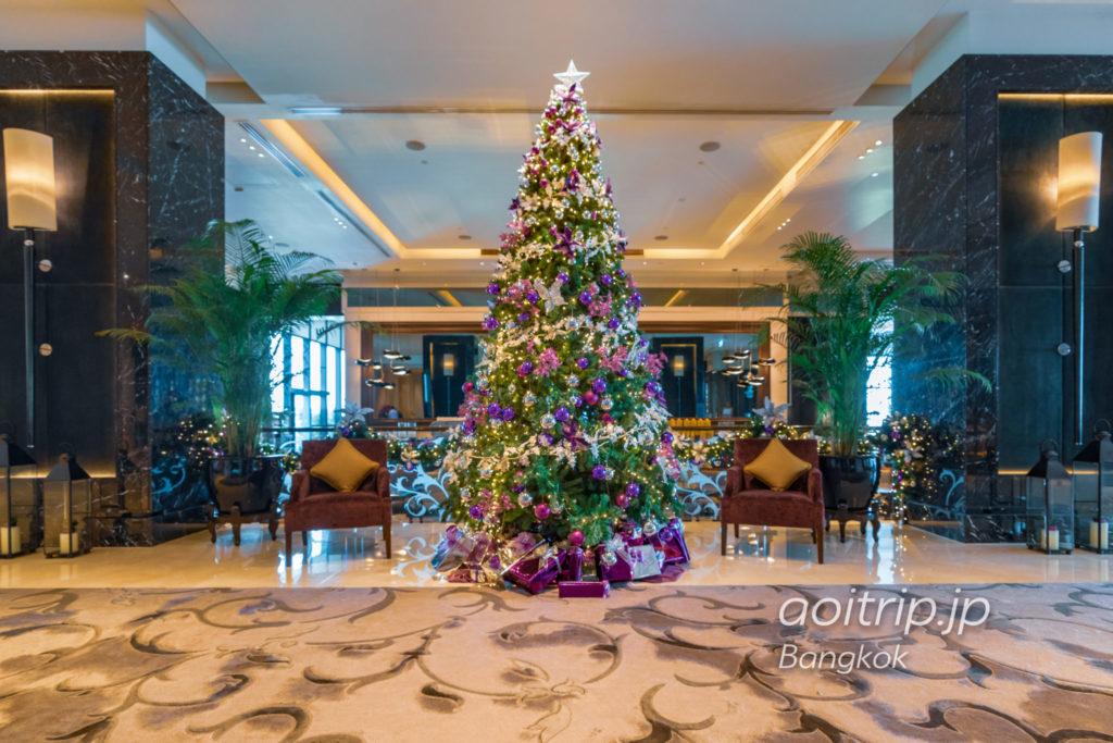 セントレジスバンコクのクリスマスツリー