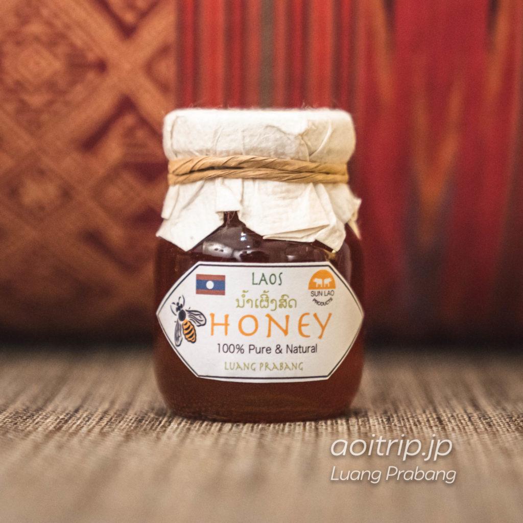 ルアンパバーンのナイトマーケット ハチミツ