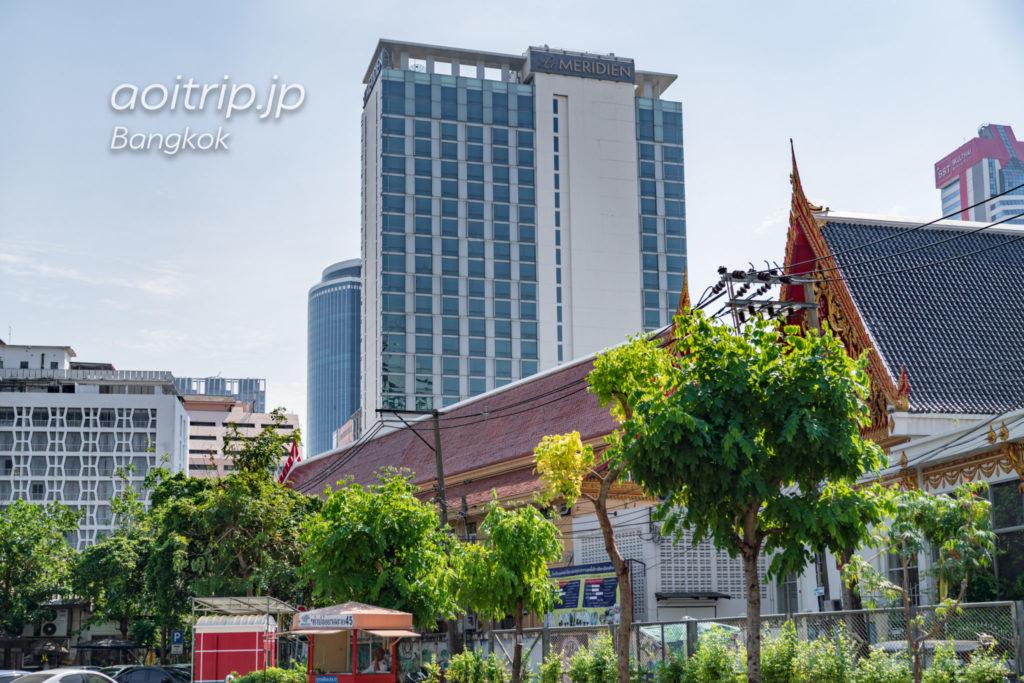 ルメリディアンバンコクのホテル外観