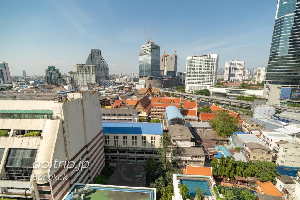 ルメリディアンバンコクの眺望