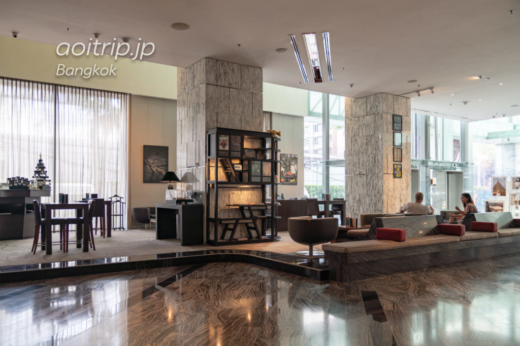 ルメリディアンバンコクのホテルロビー