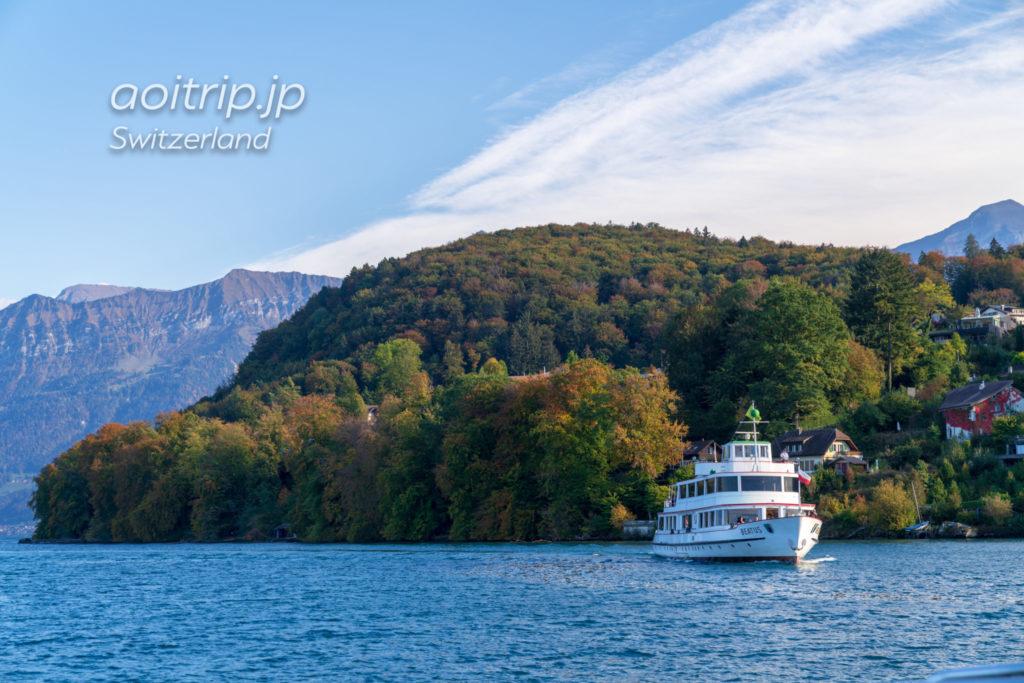 スイス トゥーン湖の遊覧船(クルーズ船)