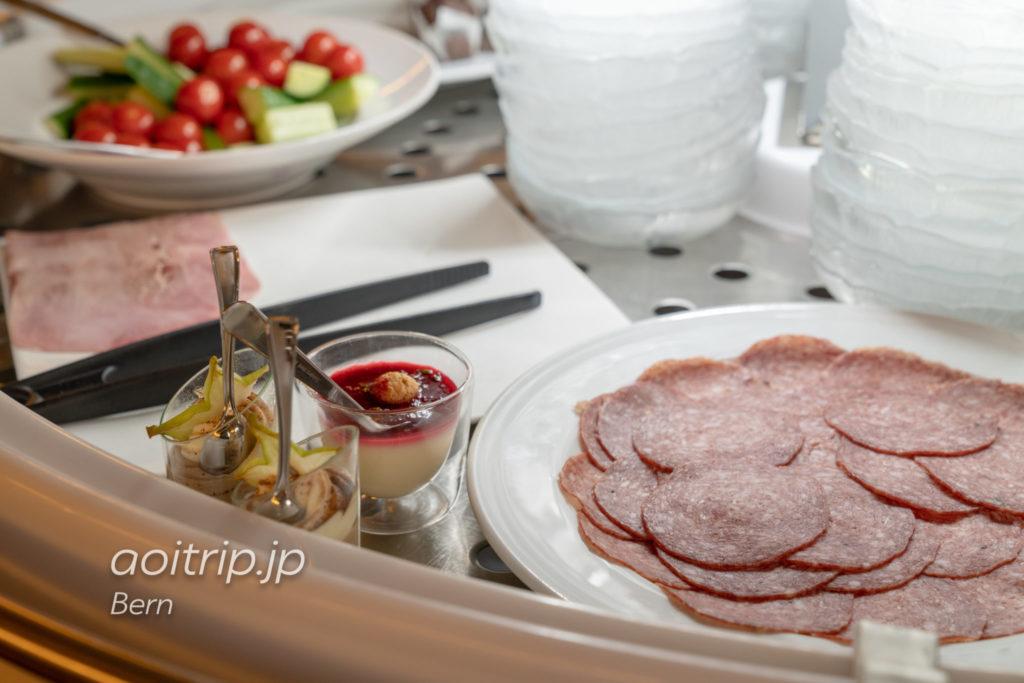 ホテルナショナルベルンの朝食