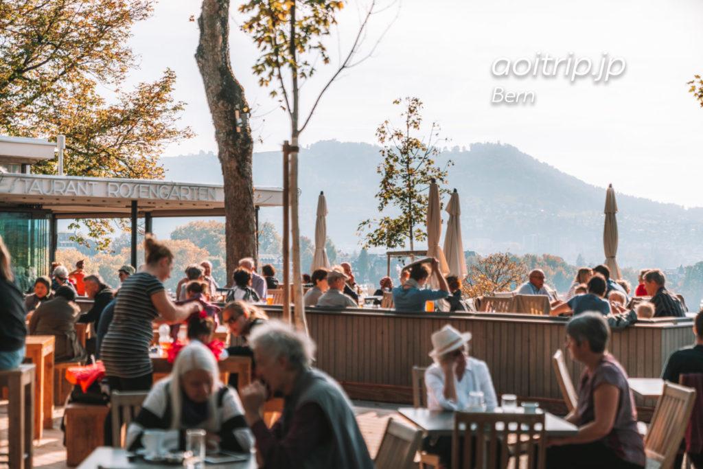 ベルンのレストランRestaurant Rosengarten