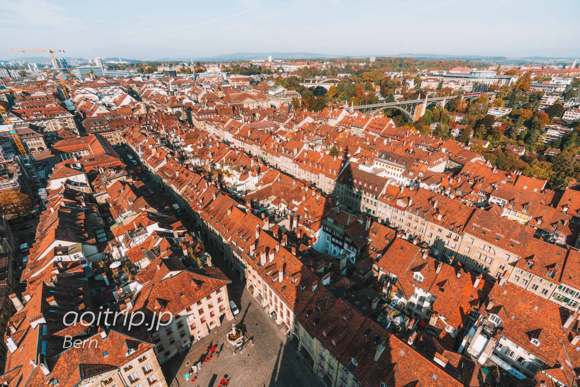 ベルン大聖堂からの眺望