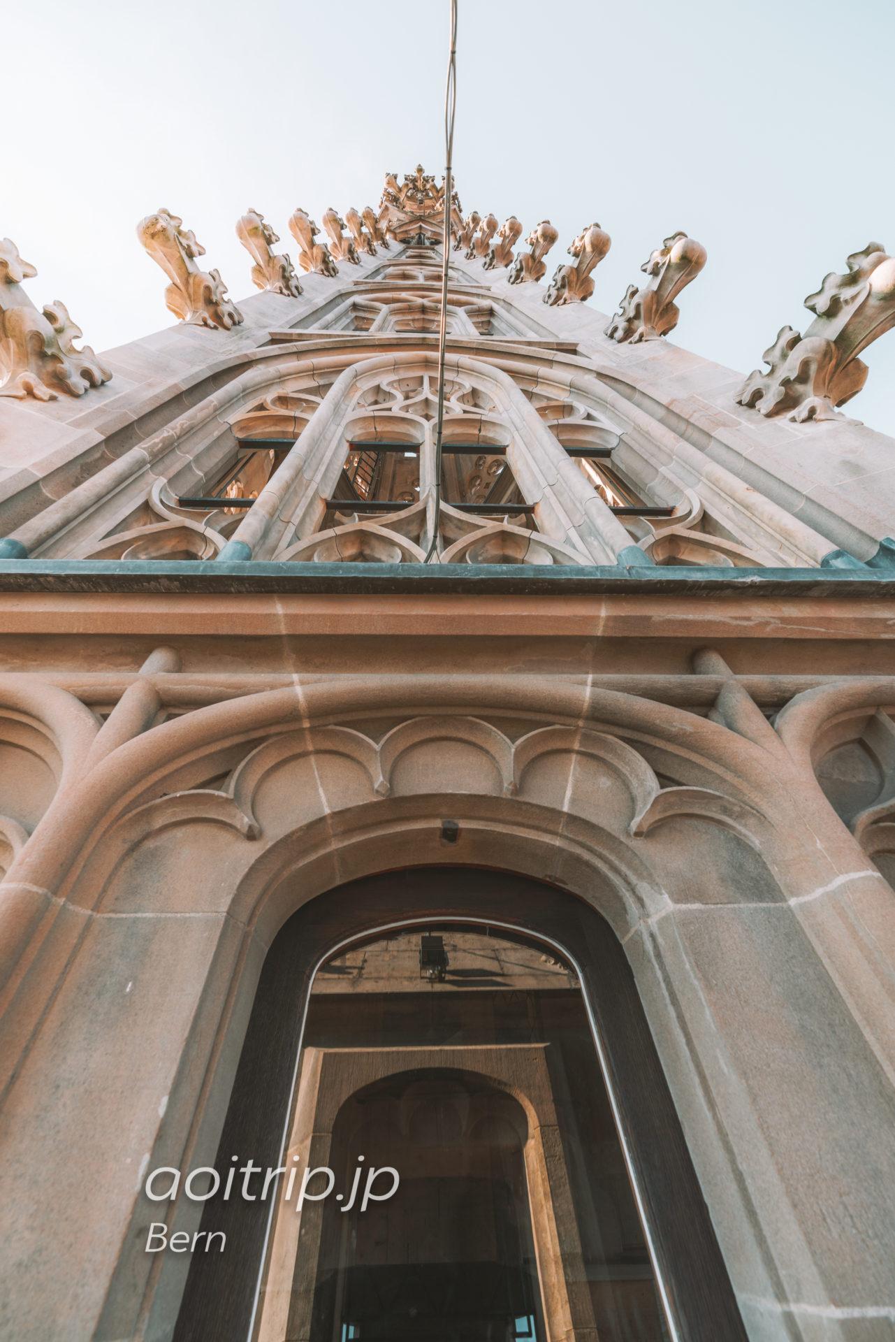 ベルン大聖堂の尖塔