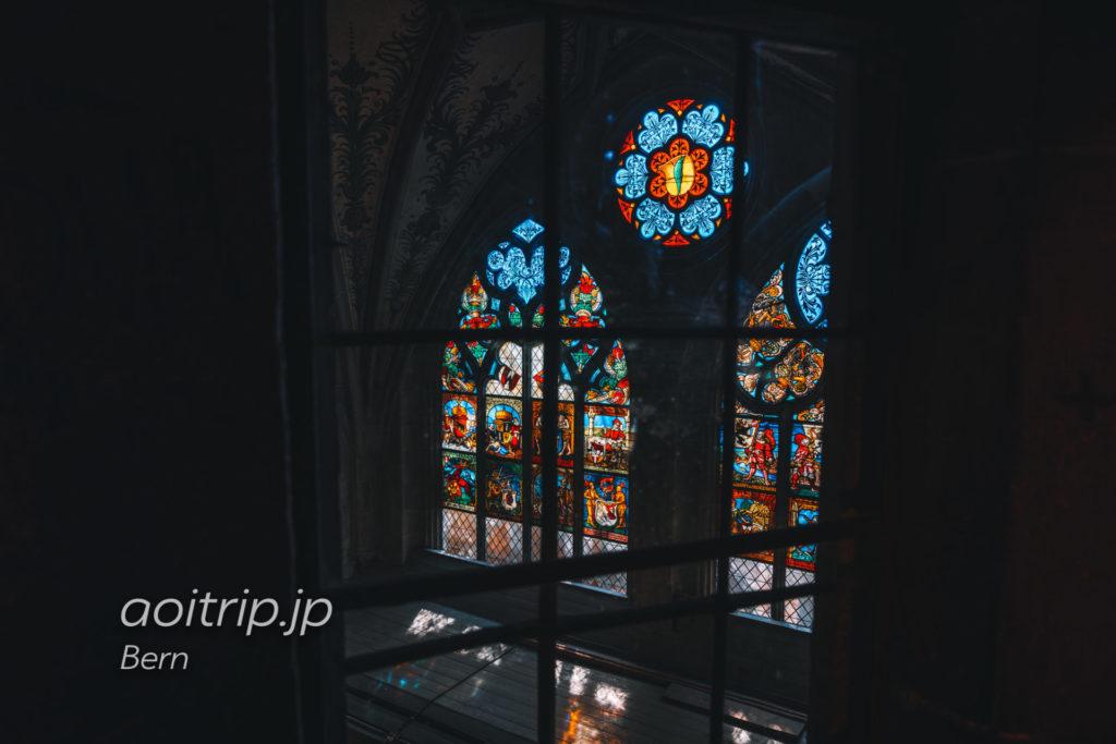 ベルン大聖堂のステンドグラス