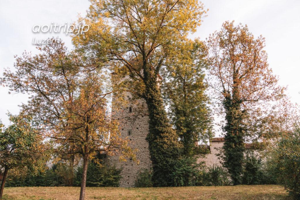ルツェルンのムーゼック城壁 Pulverturm