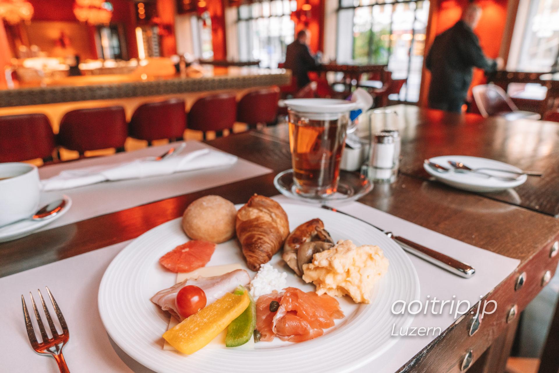 ルネッサンスルツェルンホテルの朝食