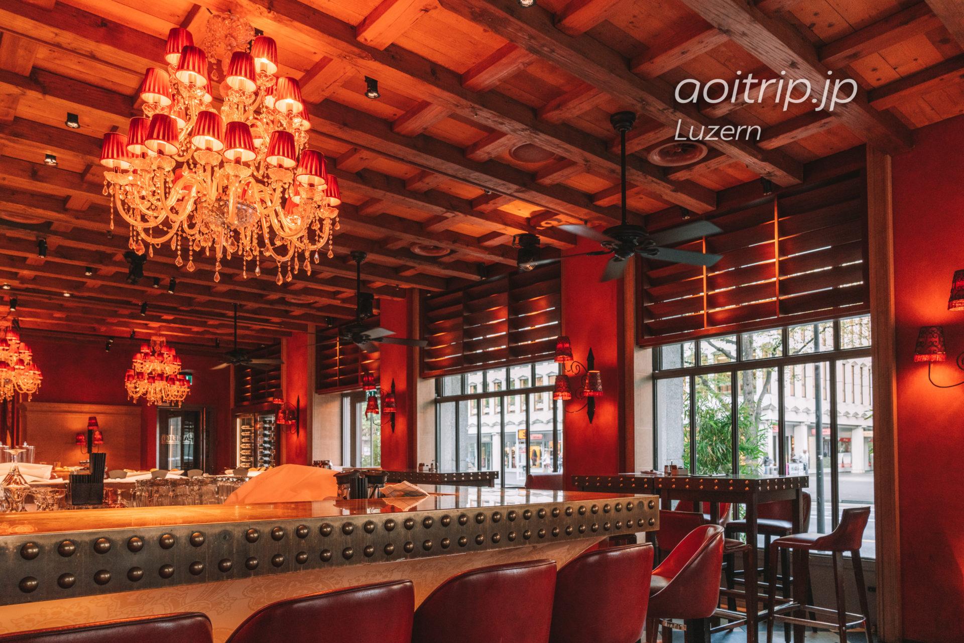 ルネッサンスルツェルンホテルのレストラン