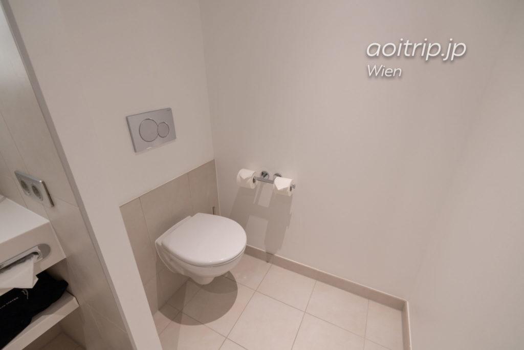 ノボテル ウィーン ハウプトバーンホフのバスルーム